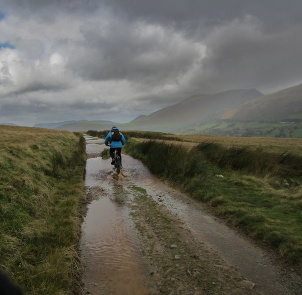 Wet Lake District ride