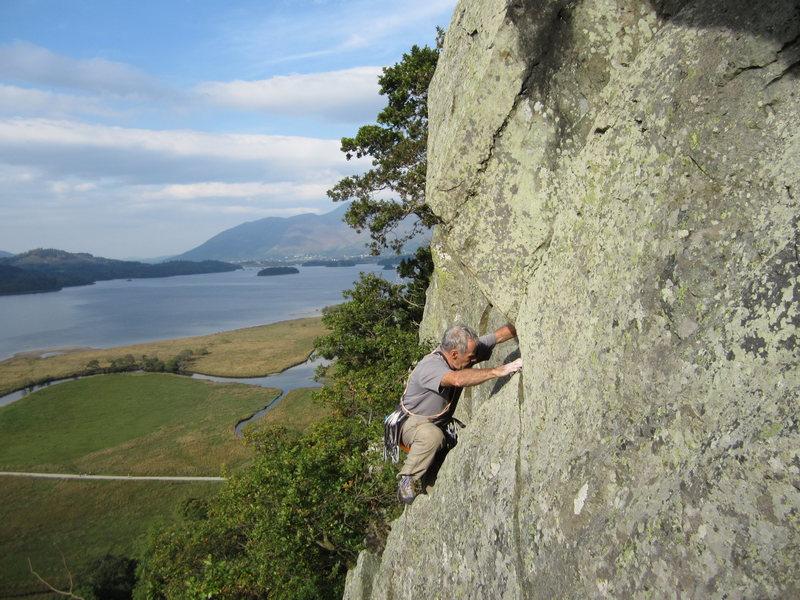 Rock Climbing Photo: Borrowdale Crag