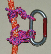 Carabiner-helical TR knot