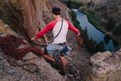 Rock Climbing Photo: Need to find out which route this was, but it was ...