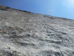 Rock Climbing Photo: P3 5.8 knob climbing