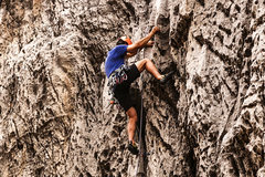 Rock Climbing Photo: Jonny on Flash Flood. Sept. 20, 2016.