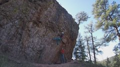 Rock Climbing Photo: Grits! Finest roped-bouldering around. September 2...