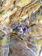 Rock Climbing Photo: Orifice is summer fun!