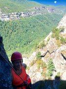 Rock Climbing Photo: Julia on The Mummy