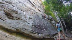 Rock Climbing Photo: Rat Stew 5.10a RRG