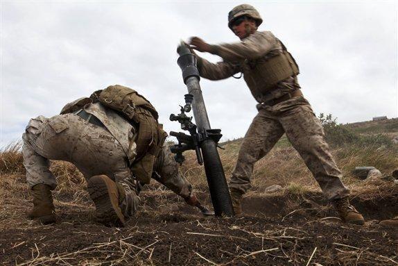 81mm mortar