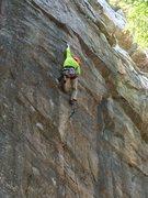 Rock Climbing Photo: Bone Hard, 5.12b R