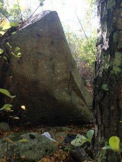 The Black Boulder.