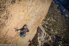 Rock Climbing Photo: Matt Reeser on an early attempt of freeing the &qu...
