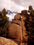 Rock Climbing Photo: Hand crack to finish.