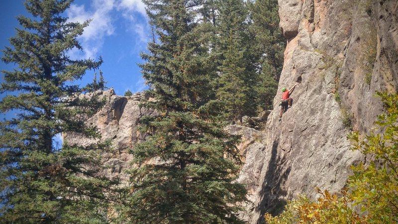 Fall climbing on Unconchas