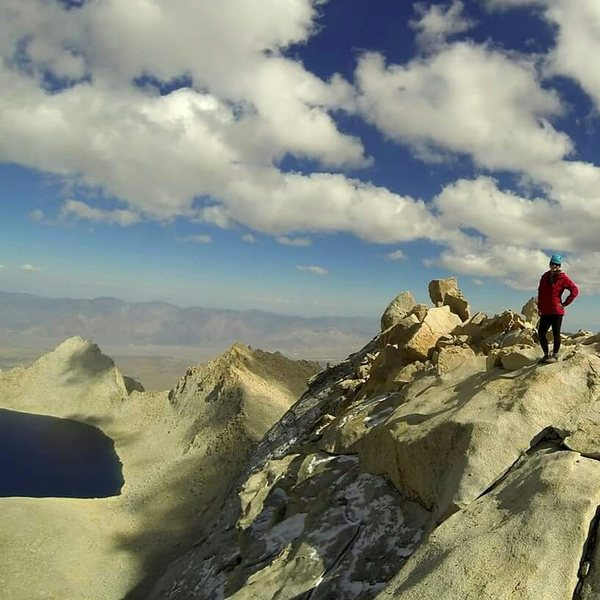 View of Tulainyo Lake from the East Ridge