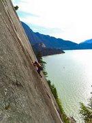 Squamish waterfront climbing