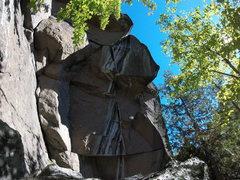 Rock Climbing Photo: Photo : Guillaume Pettigrew