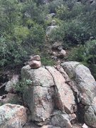 Rock Climbing Photo: after dropping into the creek wait tell you are do...