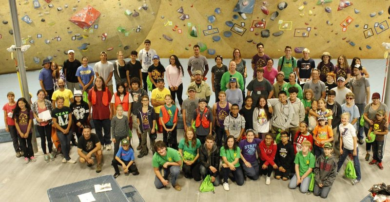 Rock Climbing Photo: The group!