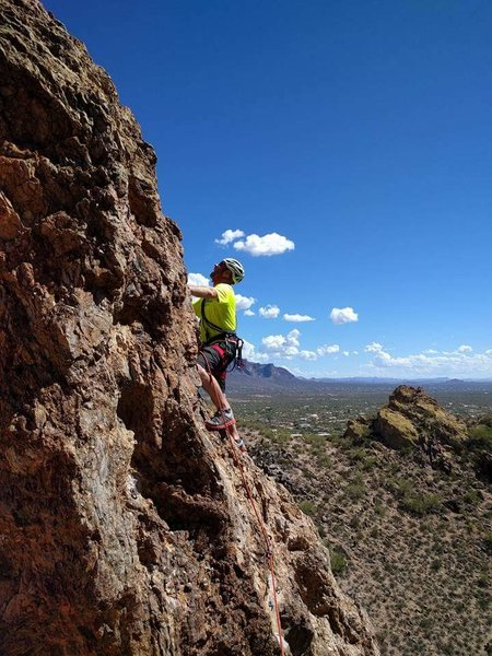 Rock Climbing Photo: Aaron Collins on Classic Piece Of Poop.
