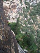 Rock Climbing Photo: Climbers on Chasing Shadows