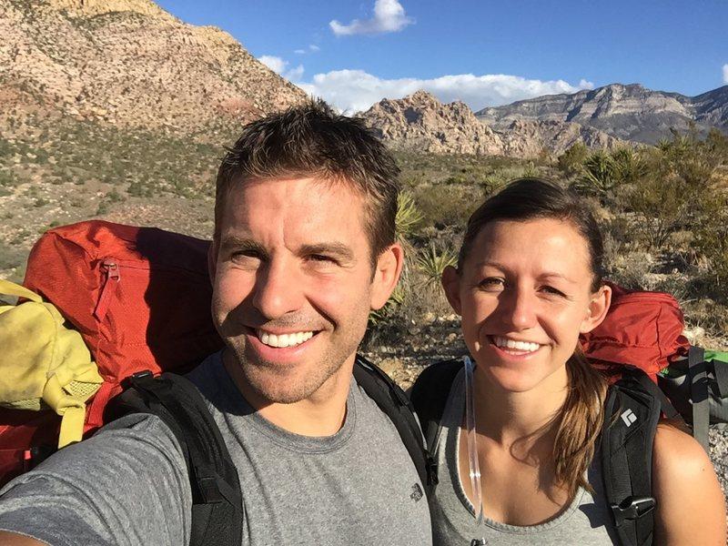 Red Rock Selfie