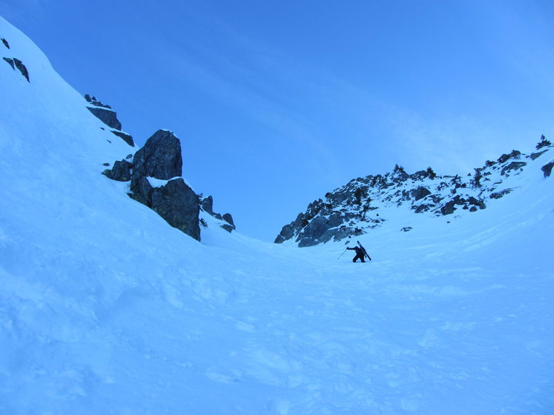 Rock Climbing Photo: Pas du Pin west couloir