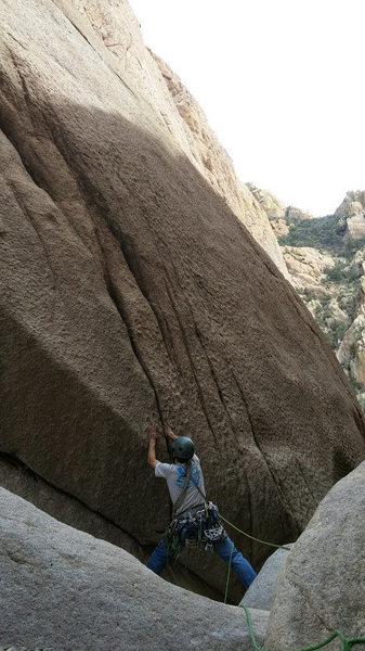 Rock Climbing Photo: the gap