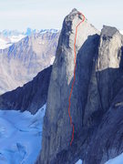 The Northern Belle 5.11+ A2
