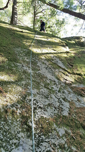 Rock Climbing Photo: Pearls before Swine