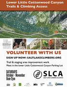 register at: <a href='http://www.saltlakeclimbers.org/adopt-a-crag/' target='_blank' rel='nofollow' >saltlakeclimbers.org/adopt-a-c...</a>