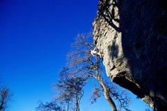 Rock Climbing Photo: Perks of living in Texas: year round climbing