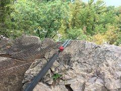 Rock Climbing Photo: Balanced rock wall TR.