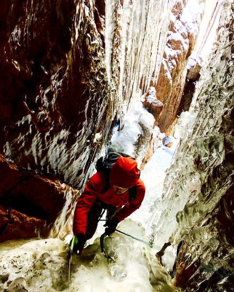 Rock Climbing Photo: Blind Assumption, Pike's Peak, CO.