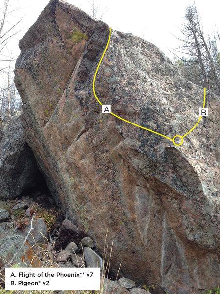 Rock Climbing Photo: Phoenix Boulder.