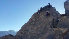 "Rock Climbing Photo: Look at all those folks enjoying ""Chiclets&qu..."