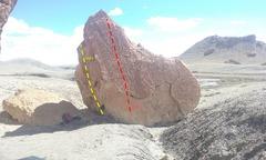 Rock Climbing Photo: Broken Glass