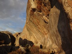 Rock Climbing Photo: Cranner Roof with evening sun. huge dog and humans...