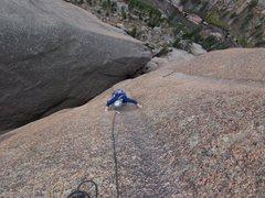Rock Climbing Photo: P8.