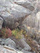 Rock Climbing Photo: Black Seam Project.