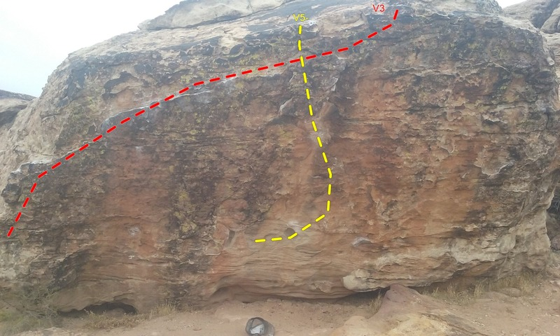 Rock Climbing Photo: The Fang Boulder