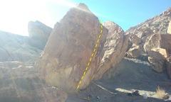 Rock Climbing Photo: blunt arete