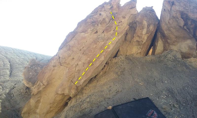 Rock Climbing Photo: The worst problem