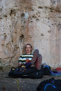 Rock Climbing Photo: Finishing up another rough day on the job - Tensle...