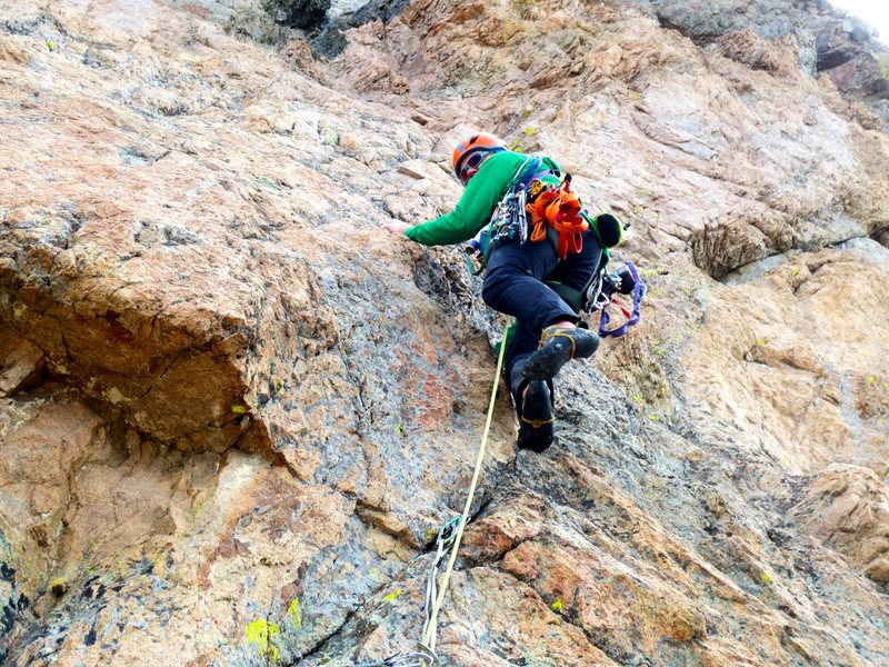 Rock Climbing Photo: P3 billy the kid