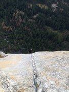 Rock Climbing Photo: Scott jugging up P9!