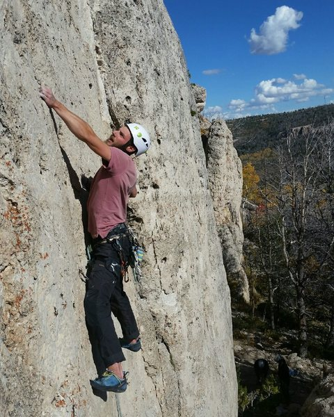 Rock Climbing Photo: Beautiful 1st of October
