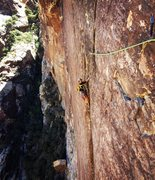 Rock Climbing Photo: Such a bitchen route!!!