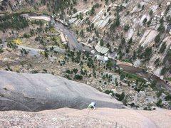 Rock Climbing Photo: The amazing P9.