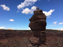 Rock Climbing Photo: #12 South Kachina Tower - Mostly just a long hike,...