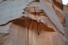 Rock Climbing Photo: Pulling the roof!