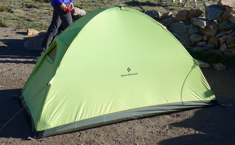 actual tent only used seven nights.
